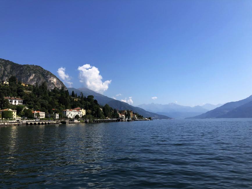 Paesaggio Lago di Como.