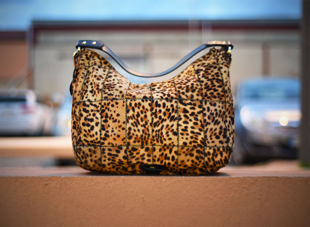 Made in Italy animalier bag by Sapaf Atelier.