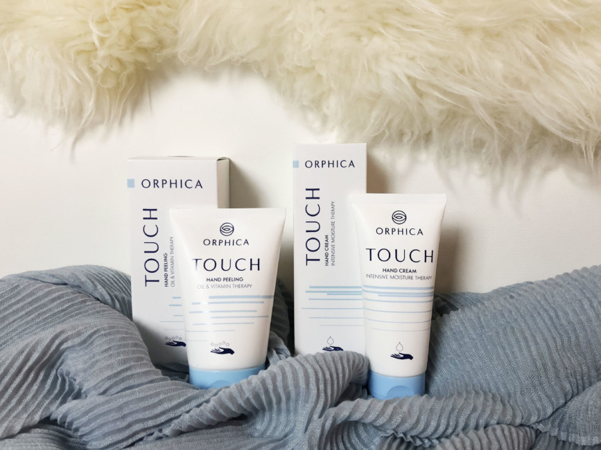 ORPHICA Touch care creams for hands.