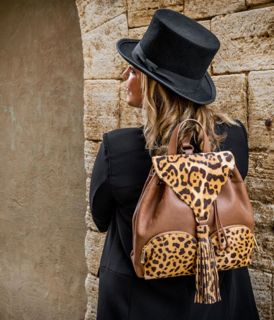 Animalier backpack by Sapaf Atelier.