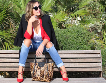 Outfit: come indossare una Tote bag animalier