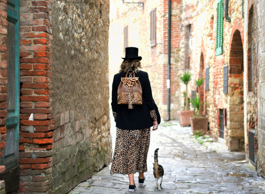 Idee di look borse animalier - Looks ideas animalier bags.