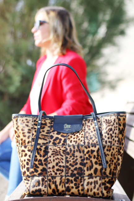 Tote bag animalier by Sapaf Atelier.