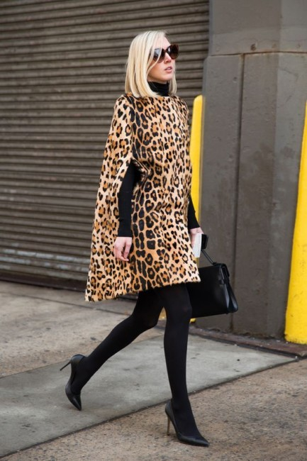 Outfit leopardato.
