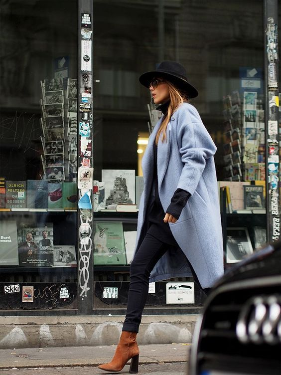 Ankle boots outfit inspiration.