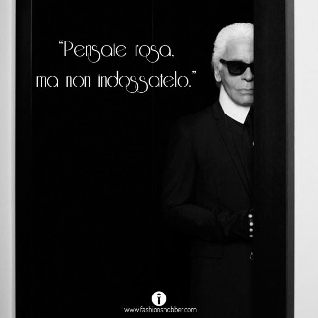 10 most beautiful quotes by Karl Lagerfeld.