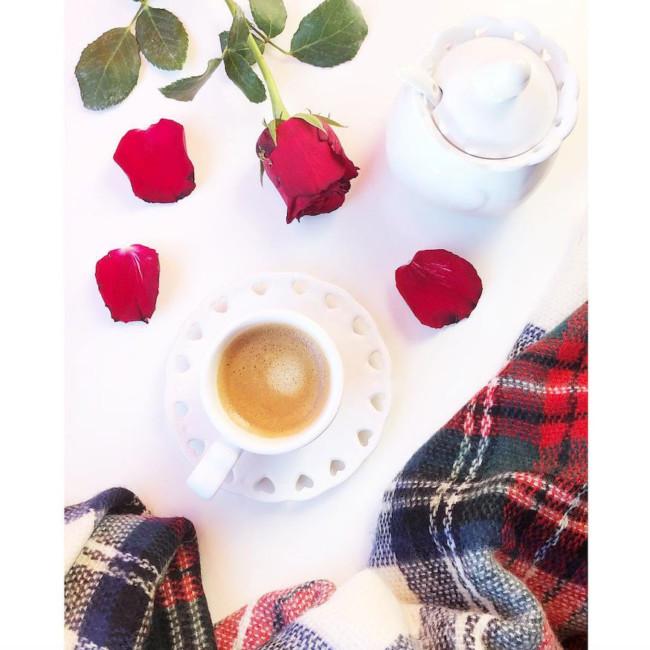 Pausa caffè del lunedì.