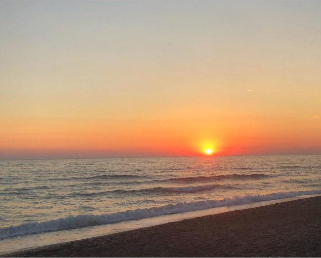 Recap Instagram 4, una delle foto più amate è un tramonto - Instagram recap 4, one of the most loved photos is a sunset.
