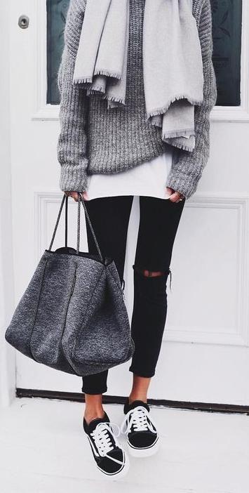Idea outfit risvoltino ai pantaloni - Cuff pants outfit idea.