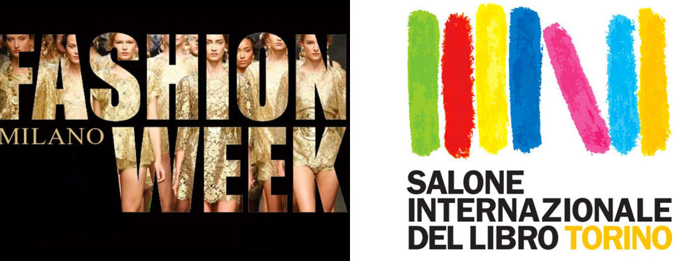 Milan fashion week VS Turin International Book Fair.