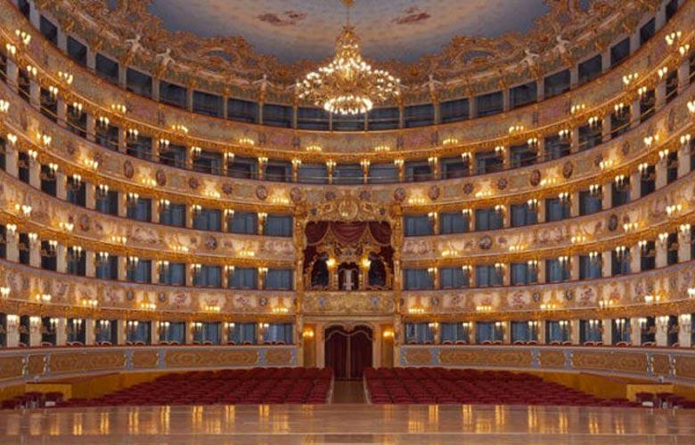 La Fenice Theater Venice.