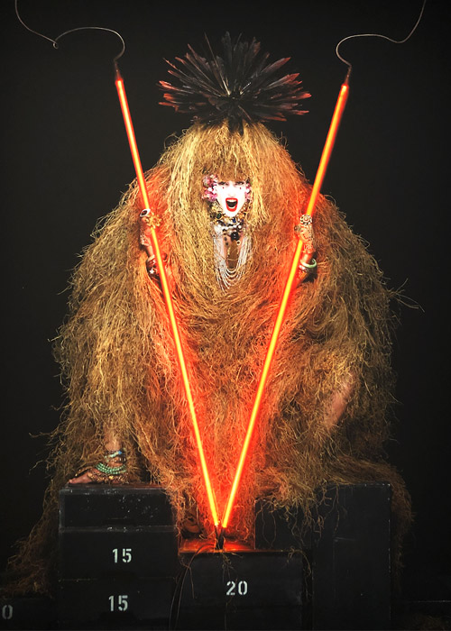 Lady Gaga by Jean Paul Goude.