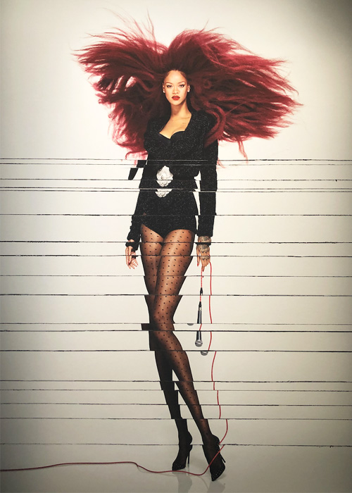 Rihanna by Jean Paul Goude.