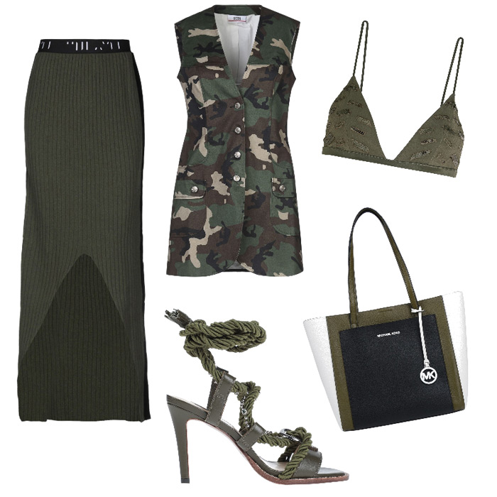 Street style outfit colori di stagione primavera estate 2020.