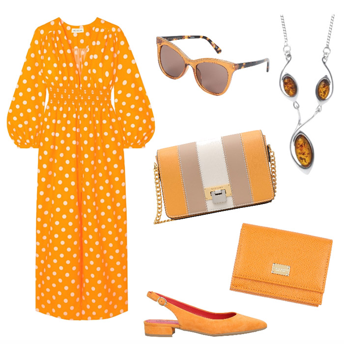 Ispirazione outfit chic colori di stagione primavera estate 2020.