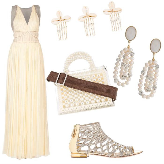 Outfit estivo elegante.