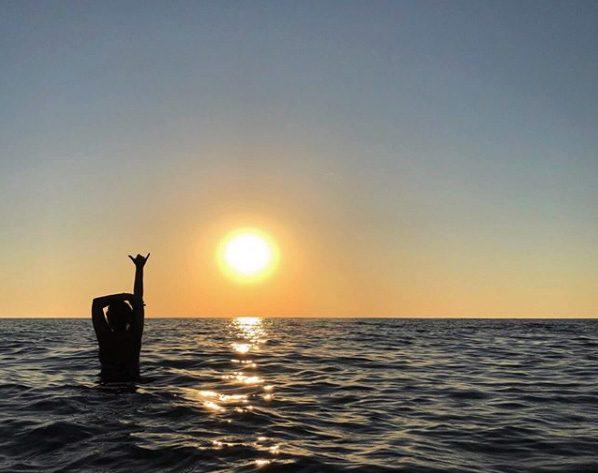Tuscany sea sunset best Instagram pic.