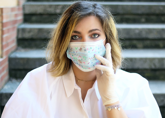 How to customize surgical mask.