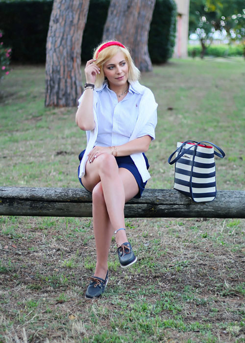 Personal style preppy outfit.