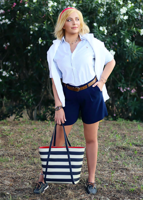 Stile personale: preppy outfit.