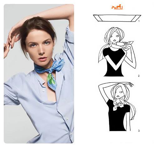 50+ modi per indossare un foulard.