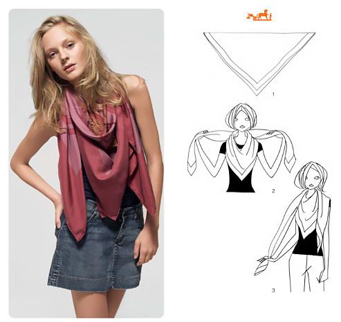 50+ modi di usare un foulard.