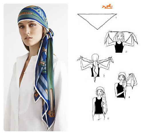 Come indossare un foulard in testa stile pirata.