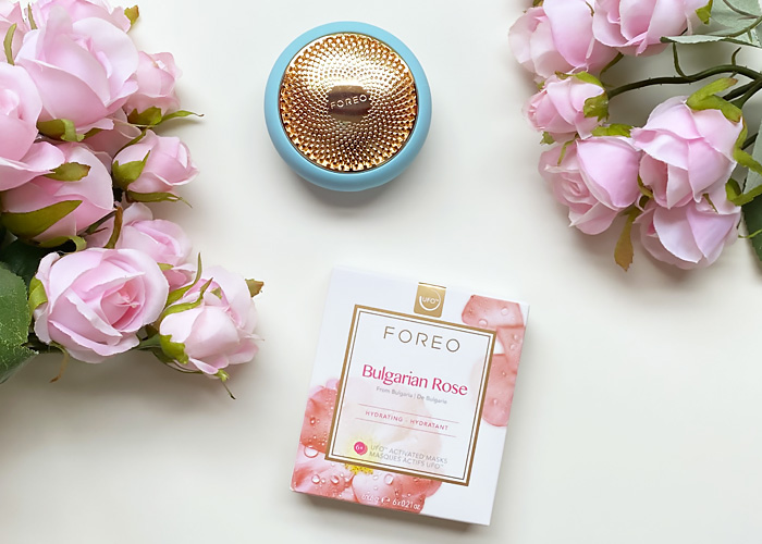 FOREO face masks Bulgarian Rose.