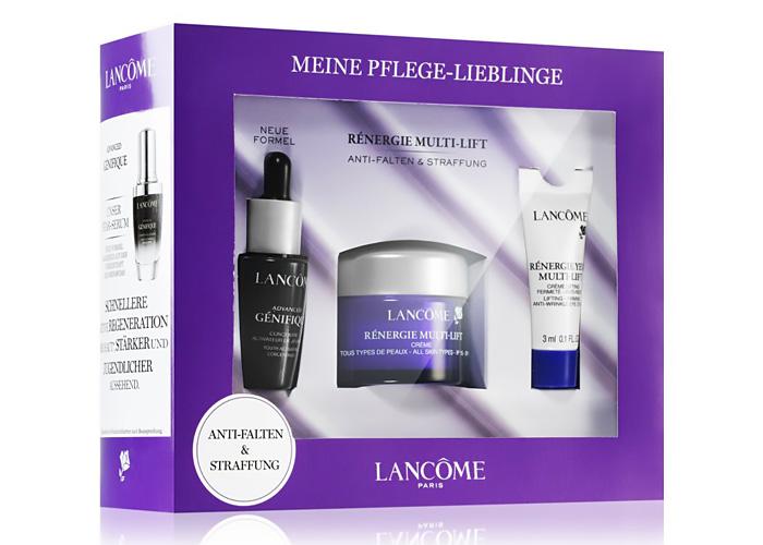 Beauty Christmas gifts: Lancôme gift box.