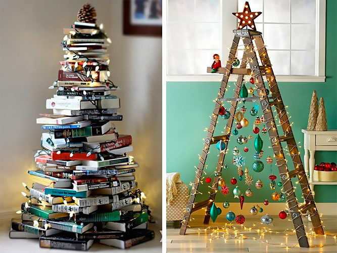 Personality test: find out who you are if you decide to make an original and alternative Christmas tree.