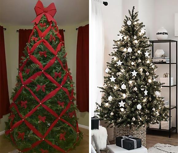 Monochrome Christmas tree.