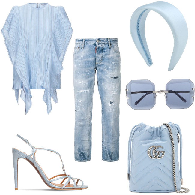 Cerulean outfit.