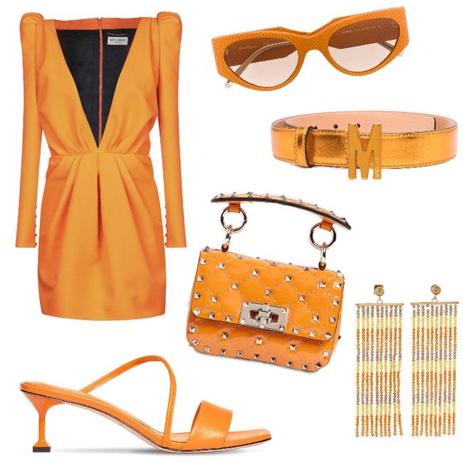 Marigold outfit idea colori di stagione primavera estate 2021.