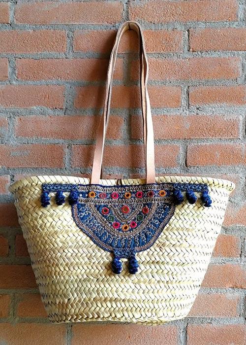 Must have dell'estate: borsa di paglia bohochic made in Italy by Graffiti Tam-Tam.