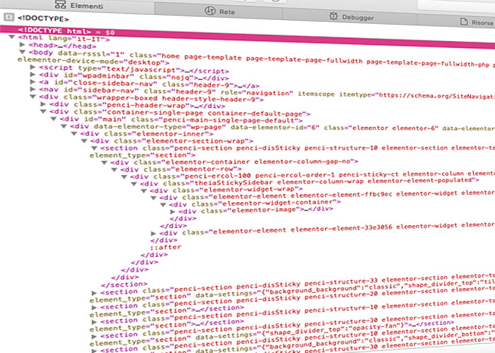 Come è fatta una pagina web: introduzione al codice HTML.