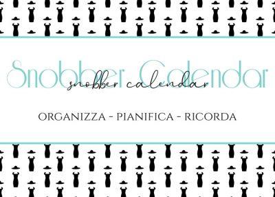 Download gratuito dello Snobber Calendar per organizzare, pianificare e ricordare.