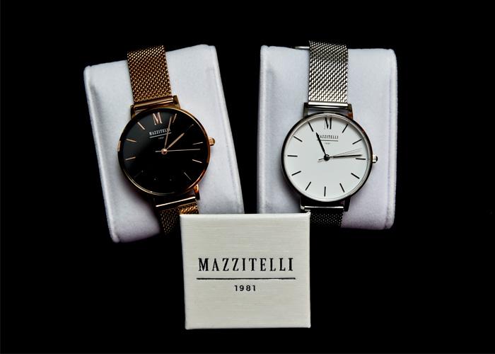 Gli orologi di moda genderless di Mazzitelli 1981 scandiscono il tuo tempo senza regole con il loro stile minimal e casual chic.